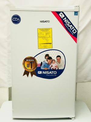 Frigobar Refrigerador Con Congelador Blanco Nisato 3.2 Pies