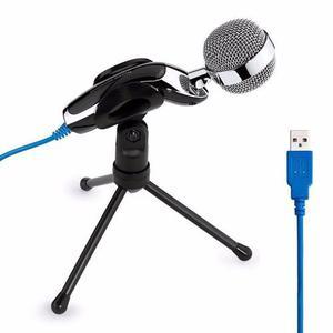 Microfono Condensador Usb Tripie Pc Y Mac