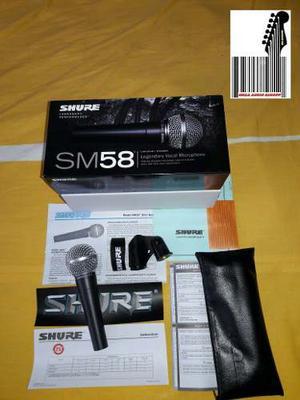 Microfono Shure Sm58 Buena Calidad