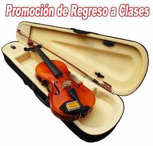 Set Violin 4/4 Promo Regreso A Clases Precio Especial Xaris.