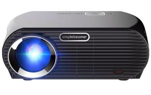Proyector Profesional Simplebeamer Led  Lumens Full Hd