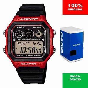 Reloj Casio Ae - Hora Mundial - 100% Original Cfmx