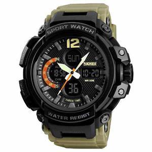 Reloj Hombre Digital Deportivo Militar Sumergible 50 Metros