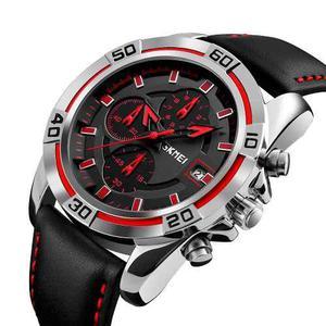 Reloj Skmei Para Hombre Deportivo Elegante Triple Dial Fecha
