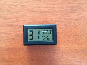 Termómetro Higrómetro Digital Medidor Humedad Y
