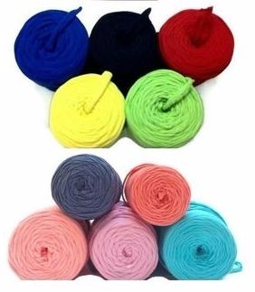 Trapillo De Colores Para Tejer Bisuteria 3kilos Envio Gratis