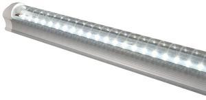 10 Lamparas Tubo Led Techo 18w T8 Aluminio Con Accesorios /e