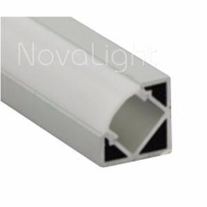Bal-020 Perfil De Aluminio Para Tiras Led - 2mt (esquinero)