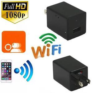 Camara Espia Tipo Cargador Full Hd Wifi