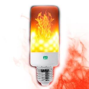 Foco Led Efecto Flama Fuego E26 E27