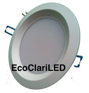 Lampara Led 9 Watts Luminario Bote Integral 12 Cm Empotrable