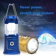 Linterna Portatil Solar Camping Recargable