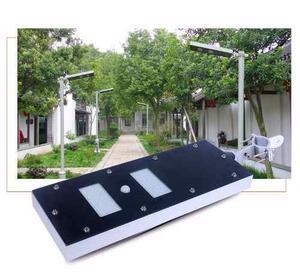 Luminaria Solar 60w Alumbrado Publico Bateria Y Panel 3 En 1
