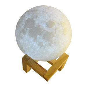 Luna 3d Led 9cm, Moon Led 3d Print Lampara Touch