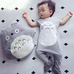 Mameluco Jumpsuit Bebé Totoro Incluye Gorrita. Sólo Queda