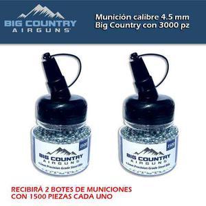 Municiones, Balín De Acero Big Country Cal.4.5 Mm C/ Pz