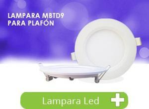 Panel Led Slim Empotrable Techo Spot 9w Lampara Foco Bf
