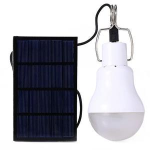 Paquete 3 Focos Y 3 Panel Solar Led Enviogratis Acampar
