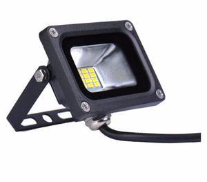 Reflector Led 10w Smdv Dc Uso C/panel Solar O Bateria
