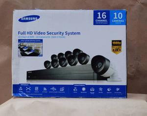 Samsung Cctv Full Hd 10 Camaras Sdh-c Sam01