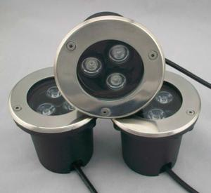 Spot Empotrable Para Piso Exterior Led 3 Watts Ip65 Lampara