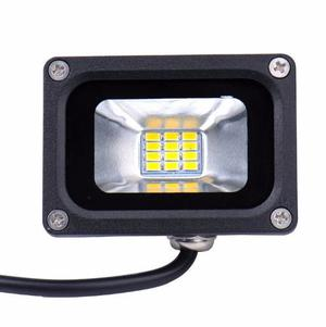 (kit 4 Pzs) Reflector Led 10w Smd Blanco Frio Exterior