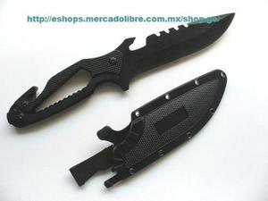 Cuchillo Tactico Militar Multifuncional Supervivencia Swat