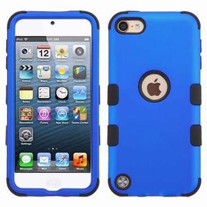 Funda Case Uso Rudo Silicon Ipod 6 Azul Envío Gratis