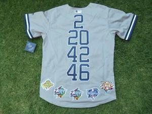 Jersey Yankees Nueva York Conmemorativa Jeter Posada Rivera