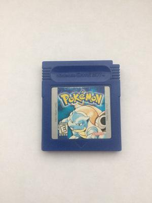Pokemon Blue Versión Para Nintendo Game Boy, Funcionando