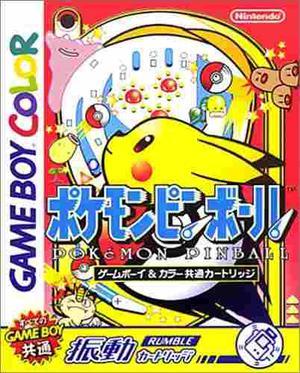 Pokemon Pinball Japón Game Boy Japón Import (monstruos De