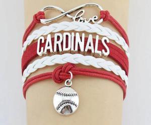 Pulsera Beisbol Cardenales San Luis Envío Gratis