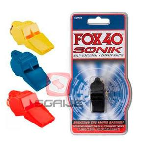 Silbato Fox 40 Sonik Entrenamiento,sgaije Sport
