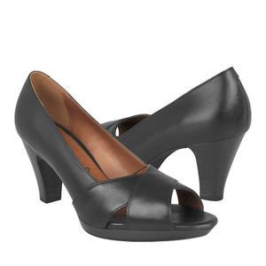 Zapatillas De Vestir Flexi Para Mujer Piel Negro