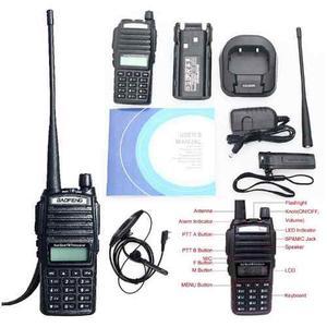 4 Radio Baofeng Uv 82 Doble Banda Vhf Uhf Fm Escaner Lam