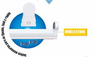 Base Tipo Gabinete Para Tubo T8 Led Lampara Empotrable 120cm