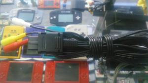 Cable Av Original Compatible Con Snes/ N64 / Game Cube