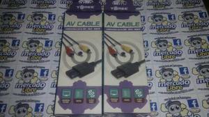 Cables Av Compatibles Con Snes/n64/game Cube (envio Gratis)