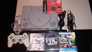 Consola Playstation + Memoria Buen Estado!