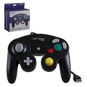 Control Usb Gamecube Nintendo Retro Link Pc Negro