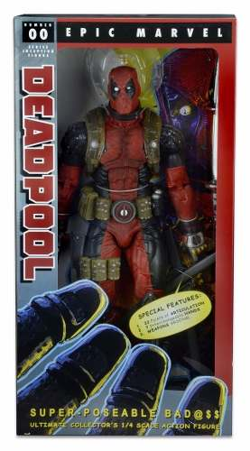 Deadpool 1/4 Escala 18 Pulgadas Deluxe Neca Marvel Legacyts