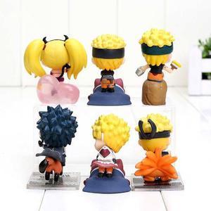 Genial Coleccion 6 Figuras Naruto Shippuden Envio Gratis