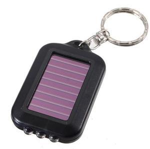 Llavero Solar Lampara De Leds Maxima Calidad