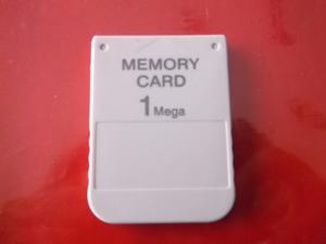 Memoria Memory Card Ps1 Psx One 1mb 15 Bloques