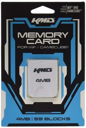 Memory Card Wii Gamecube 4 Mb *envío Gratis
