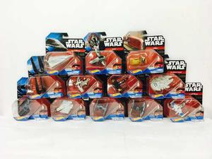 Star Wars Hot Wheels 12 Naves De 8cm Mattel