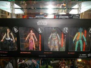 Boba Fett Han Solo Leia Greedo Black Series Star Wars
