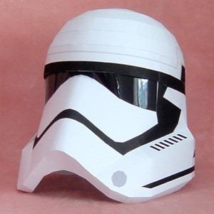 Casco Storm Trooper De Starwars (para Armar En Papel)
