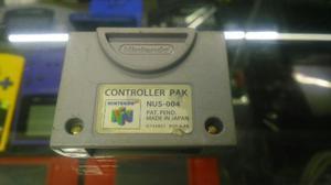 Controller Pack Original Para N64 (Envio Gratis)