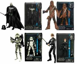 Darth Vader Luke Chewbaca Sandtrooper Black Series Star Wars